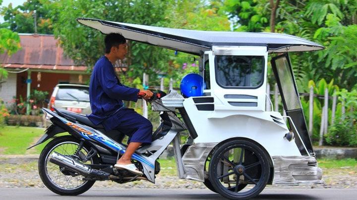Alat Transportasi Tradisional Bentor